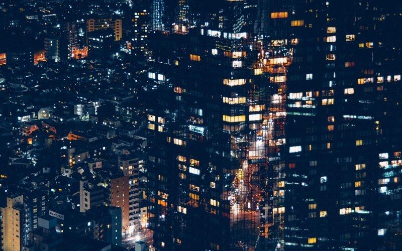 cidade a noite