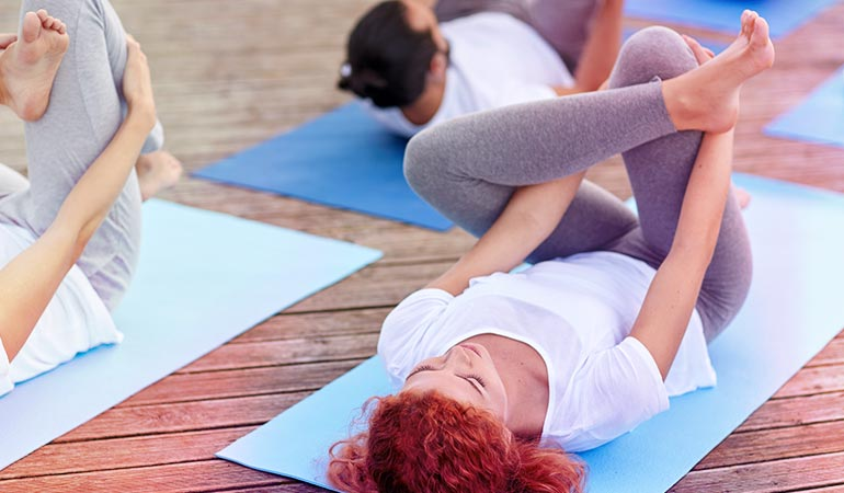Pose de Yoga 4