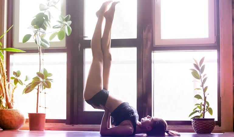 Pose de Yoga 5