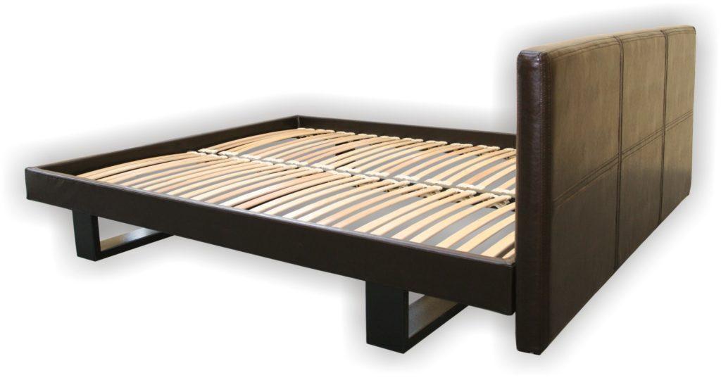 Quadro da cama de madeira